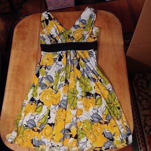 Women's Jones Wear Dress Floral Dress, 8